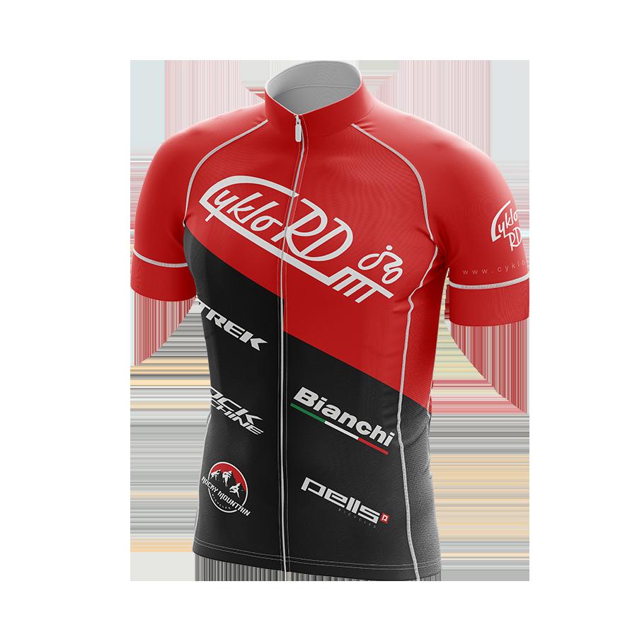 Cyklo-RD dres červený
