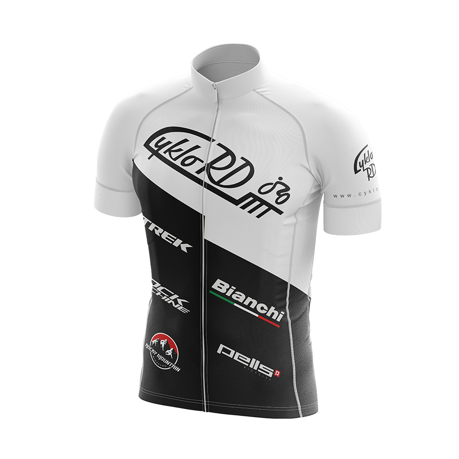 Cyklo-RD dres bílý