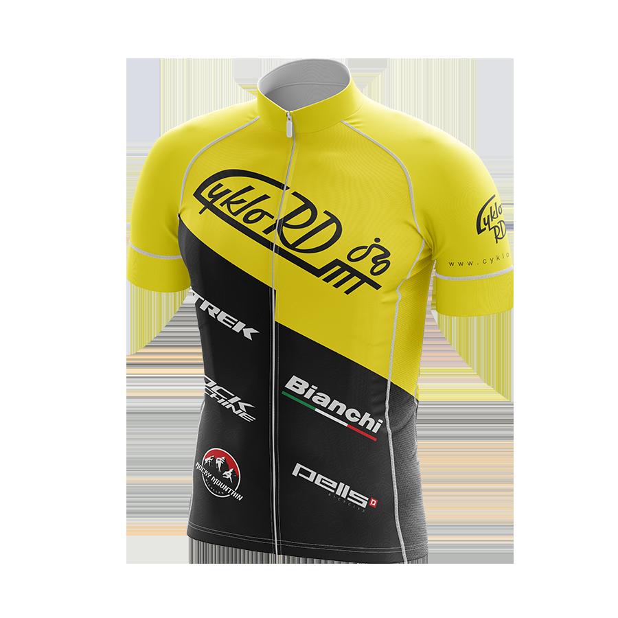 Cyklo-RD dres žlutý